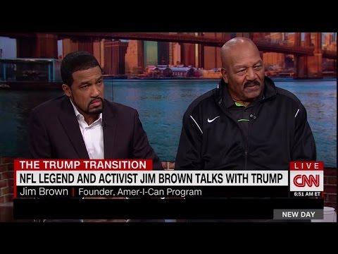 NFL Legend & Activist Jim Brown Talks With Trump