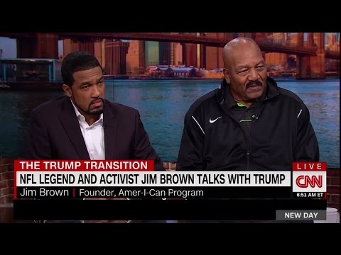 NFL Legend & Activist Jim Brown Talks With Trump