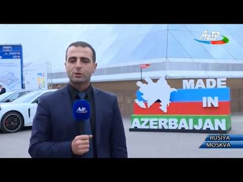"""Made in Azerbaijan"" brendi Moskvada kecirilen ""WorldFood Moscow"" sergisinde"