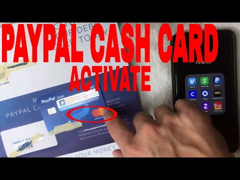 ✅  How To Activate Paypal Cash Debit Mastercard 🔴