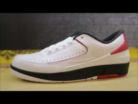 new style 5daa7 fd4f7 Air Jordan 2 Low White Red Sneaker Detailed Look / Review