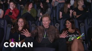"Conan Crashes A ""Magic Mike XXL"" Girls"