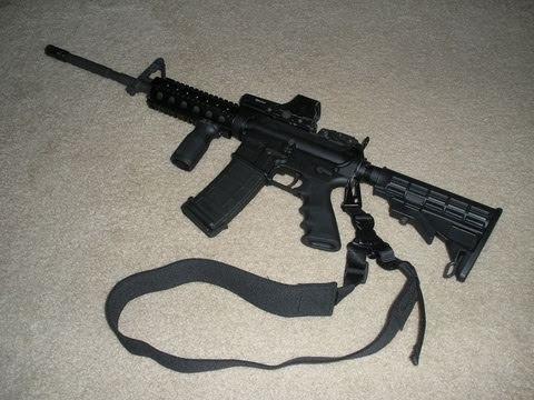 Panther Arms DPMS AR-15 build