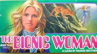 Ep. 106: The Bionic Woman Board Game Review (Parker Brothers 1976)