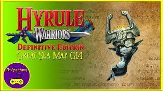 Hyrule Warriors (Switch): Great Sea Map G14 -