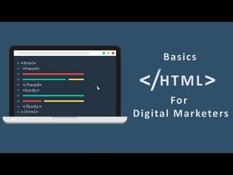 Learn The Basics Of HTML For Digital Marketing Step By Step | Free Digital Marketing For Beginners