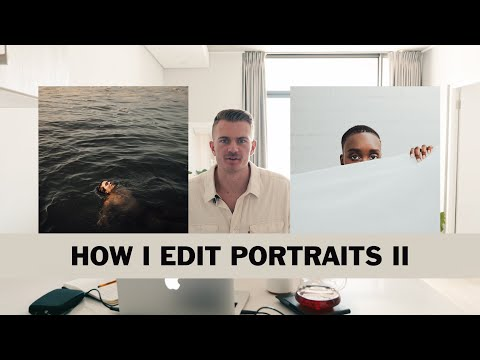 HOW I EDIT PORTRAITS II: LIGHTROOM