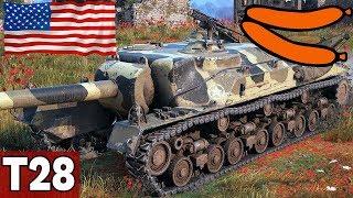 SZYBKA PARÓWA W ZATOCE - T28 - World of Tanks