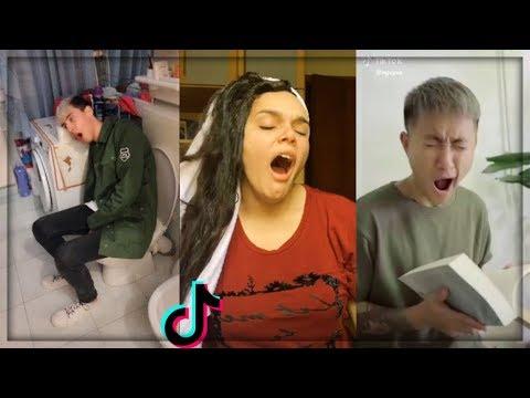 Sleepy Day #Try Not To Yawn Challenge New Trend TikTok & Musically Compilation #SleepyDay