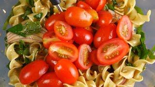 (생생정보)토마토를 넣은 냉 파스타 tomato pasta salad