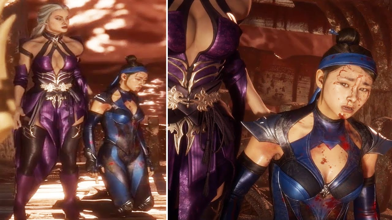 Sindel Betrays Her Daughter Kitana For Shao Kahn - Mortal Kombat 11 Aftermath (MK11 2020)