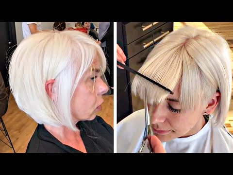 new-pixie-haircut-tutorial-|-short-bob-&-medium-haircut-|-trendy-hairstyles-2020-compilation-grwm