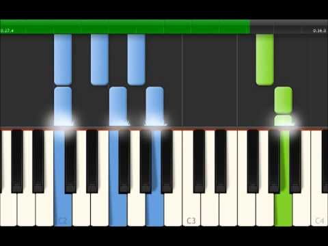 Twinkle Twinkle Little Star With Melody and inverted Block Chords For Piano