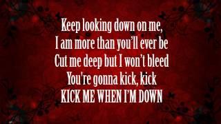 Kick Me - Sleeping With Sirens (Lyrics)