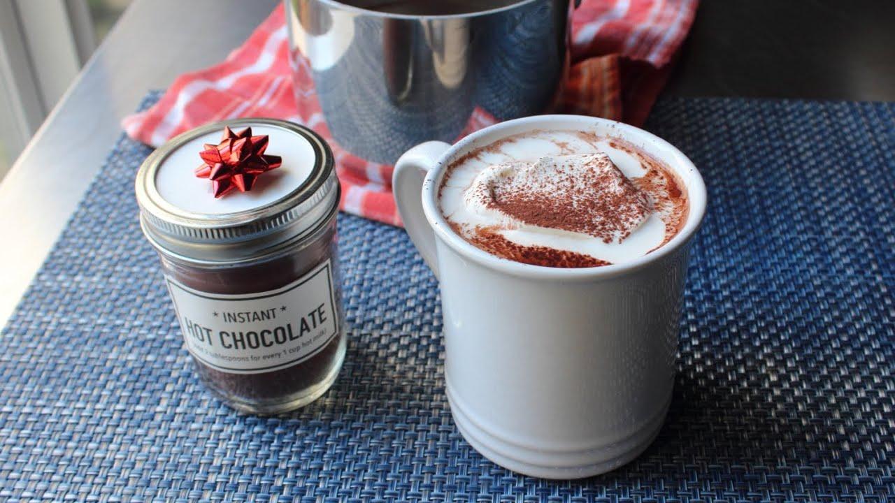 Christmas gift ideas hot chocolate mix