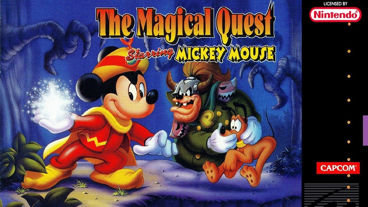 Disney S Magical Quest Starring Mickey Mouse Snes Completo