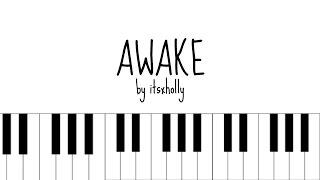 Video AWAKE - BTS - Piano Tutorial download MP3, 3GP, MP4, WEBM, AVI, FLV Februari 2018