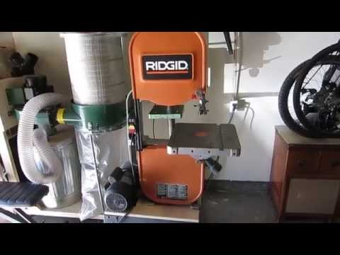 Ridgid Band Saw Model Bs14000 For Sale Band Saw Power