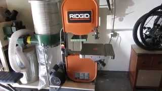Ridgid 14002 Band Saw Must Do Modifications