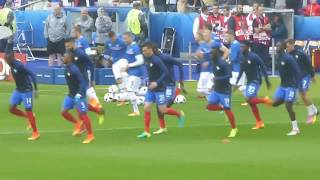 Olivier Giroud ● Antoine Griezmann ● Dimitri Payet ● France vs Iceland ● Euro 2016