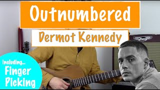 》'outnumbered' guitar tutorial | dermot kennedy lesson 》[chords + fingerpicking pattern tab] 》link to all tabs/chords/lyrics via my patreon, in desc...
