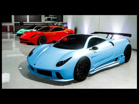 GTA 5 Online - Best Paint Jobs of the Week! (Iceberg, Neon Red Devil, Saints Purple & More)