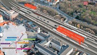 VDE 8: Der Bahnknoten Erfurt – Bau des ICE-Kreuzes in Mitteldeutschland