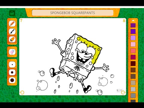 spongebob coloring pages coloring pages for kids