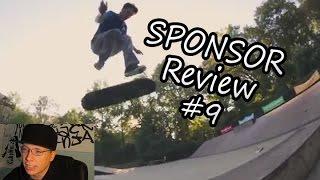 "Sponsor Tape Reviews #9: ""One Tape, Five Kickflips?"""