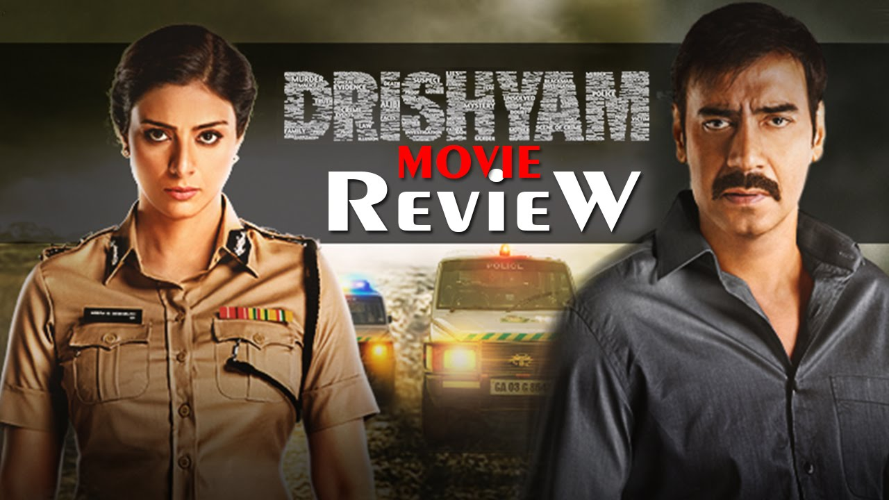 Drishyam Full Movie Review In Hindi Ajay Devgan Tabu Shriya Saran Bollywood News 2015