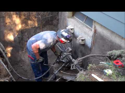 Egress Window Cut - Kansas Coring & Cutting