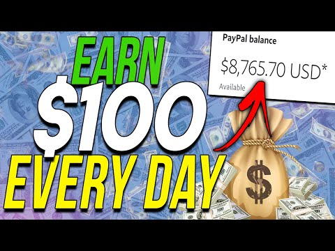 Make $100 A DAY & Make Money Online For FREE With NO Website And No Skills!
