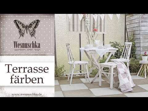 DIY : Terrasse streichen | How to paint a terrace | HOME DESIGN | TIPPS & TRICKS