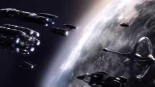 Battlestar Galactica FTL Jump