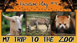 My Trip to the Zoo! VACATION VLOG #4 Thumbnail