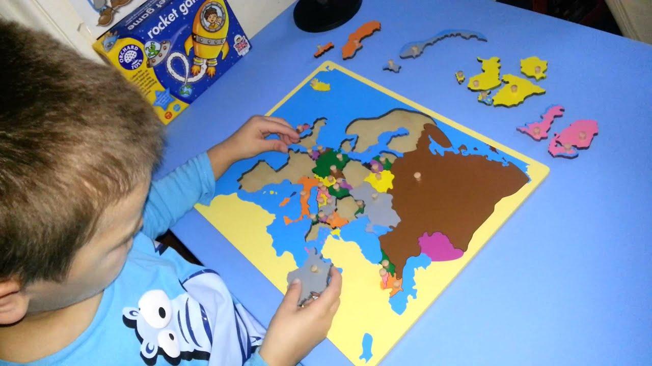 Ik montessori europe puzzle youtube ik montessori europe puzzle gumiabroncs Images