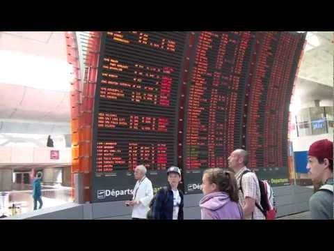 Disney World N°2 - 06 17 - Arrivée à l'aéroport Roissy CDG