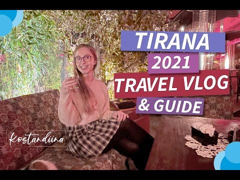 TIRANA TRAVEL VLOG & GUIDE 2021 prices | bars | night life