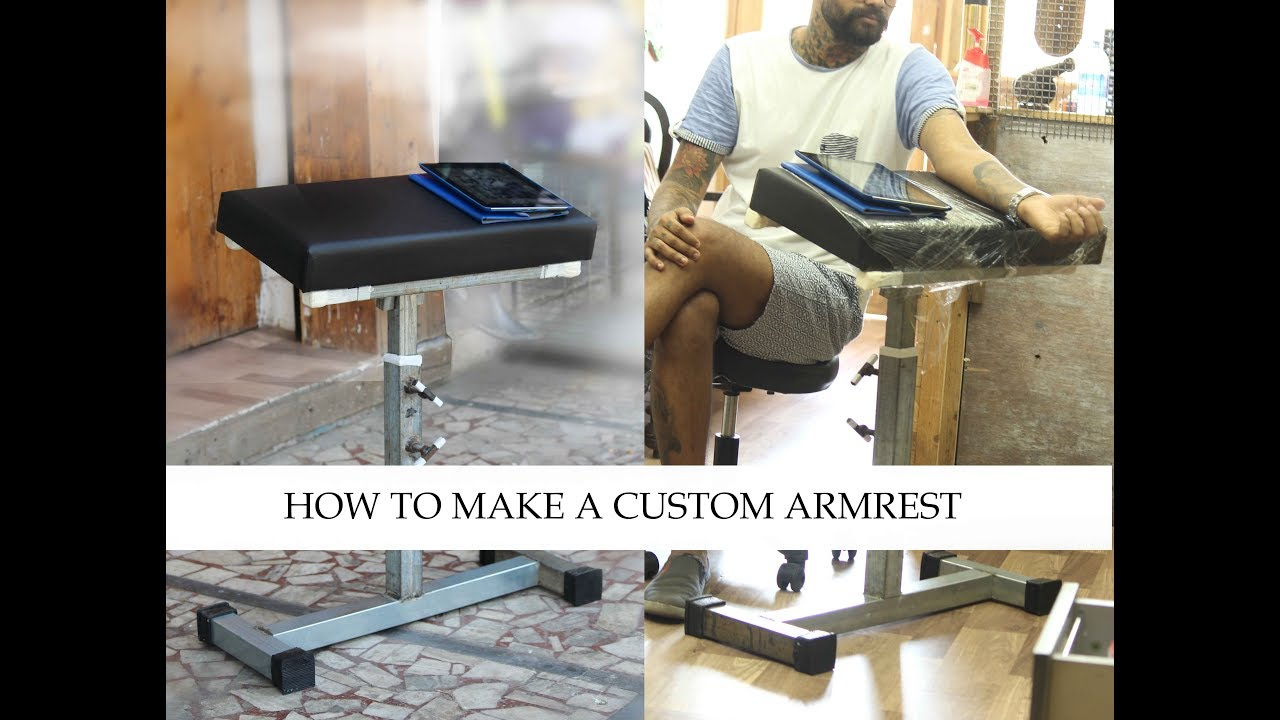 How To Make A Custom Armrest Tattoo Tutorial Part 5 Youtube