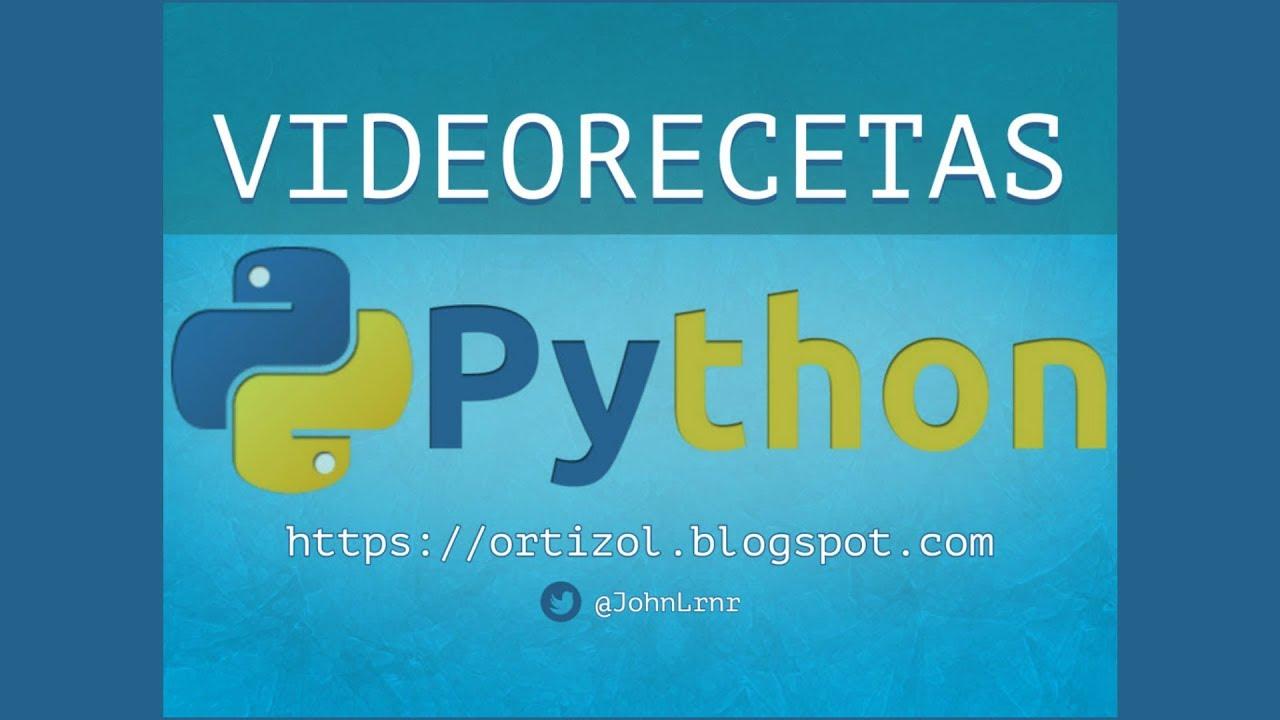 Videoreceta Python No  5-10: Ordenar Datos en un DataFrame