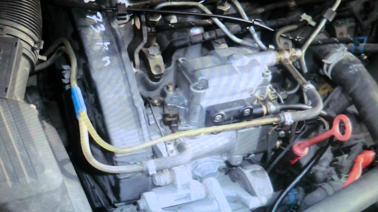 pompe injection tdi 90 youtube