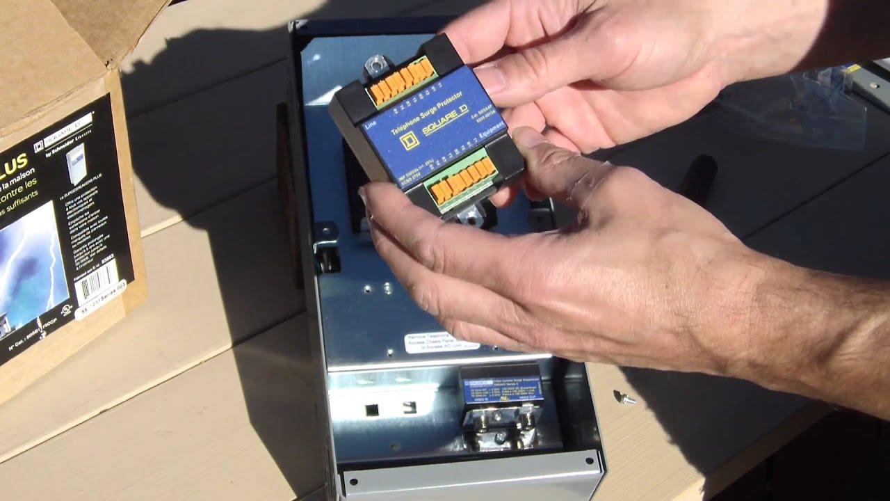 Square D Sdsb1175c Inspection Only Surgebreaker Plus