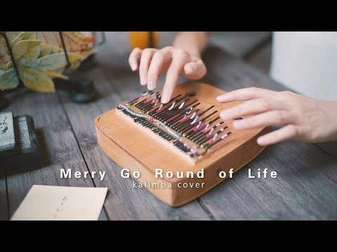 Merry Go Round Of Life - Howl's Moving Castle ( Kalimba Cover By April Yang)