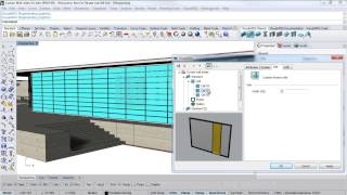 VisualARQ 1: Curtain Wall video