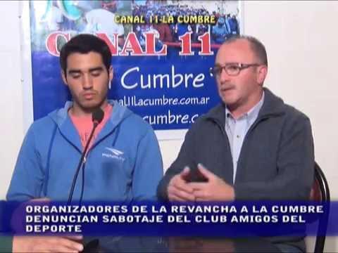 PROMOCION DE LA REVANCHA LA CUMBRE Y SABOTAJE DEL CLUB