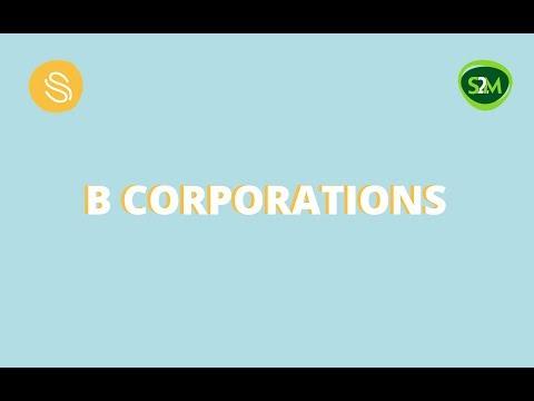 Facebook Live - Marielle Sijgers talks about B Corporations