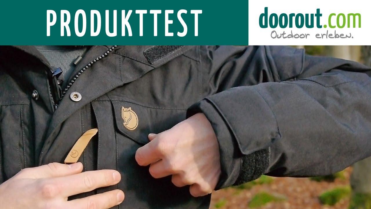 Produkttest Fjällräven Yupik Parka Hydratic Winterjacke Test