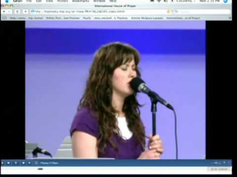 Return to the Lord Prophetic Song - Jessica Meshell, Lou Engle IHOP Prayer Room