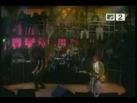 nirvana (live at 'saturday night live' in MTV studios  NY  united states 10.01.1992)