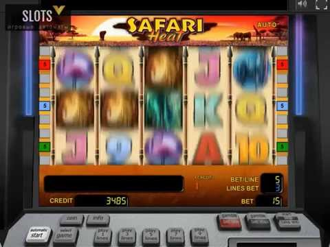 Призовая игра на игровом автомате Safari Heat (Сафари)